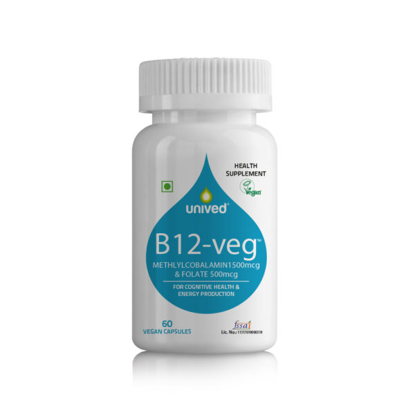 Methylcobalamin 1500 mcg Unived B12-veg
