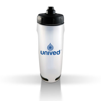 Unived Handheld Bottle Transparent