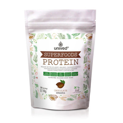 Unived Plant Based Superfoods Protein 30 Servings Front