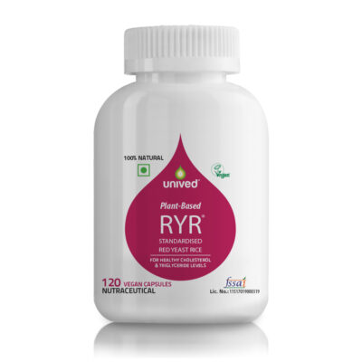 Unived Red Yeast Rice RYR Cholesterol