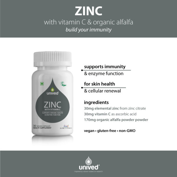 Unived Zinc with Vitamin C