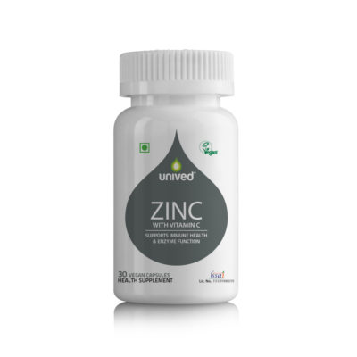 Unived Zinc Vitamin C Supplement