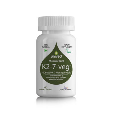 Unived K2-7-veg Vitamin K2 Bottle