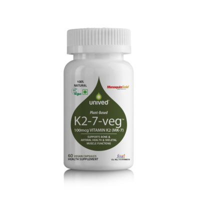 Unived Plant Based Vitamin K2 7 Natural Vitamin K