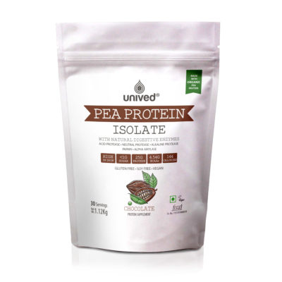 Unived Organic Pea Protein Isolate Plant Based Protein