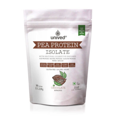 Unived Vegan Pea Protein Isolate Chocolate Front