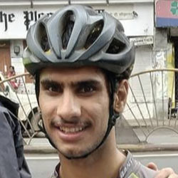 unived athlete cyclist surya thathu