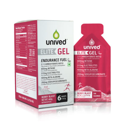 Unived Elite Gel Berry Blast Vegan Energy Gel
