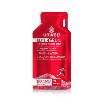 Unived Elite Energy Gel Vegan Berry Blast