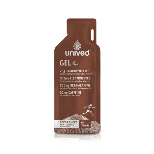 Unived Vegan Energy Gel Cocoa Choco