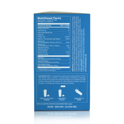 Unived Elite Recovery Mix Creamy Vanilla Box Nutritional Facts