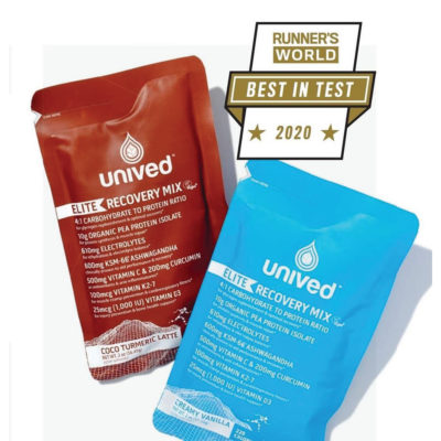 Unived Elite Recovery Mix Featured in Runner's World UK