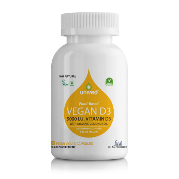 Unived Vegan D3 5000 IU Vegan Vitamin D3