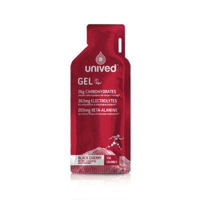 Unived Vegan Energy Gel Black Cherry