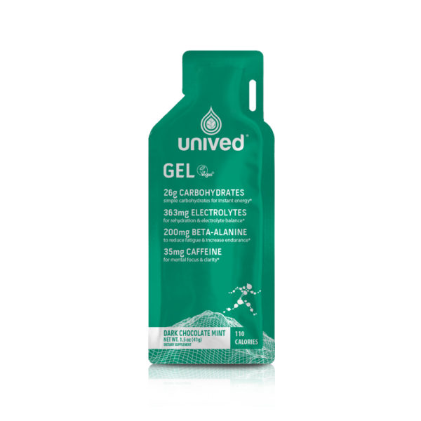 Unived Vegan Energy Gel Dark Chocolate Mint