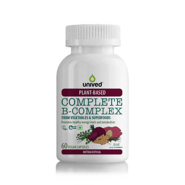 Unived Plant Based B Complex Vitamins