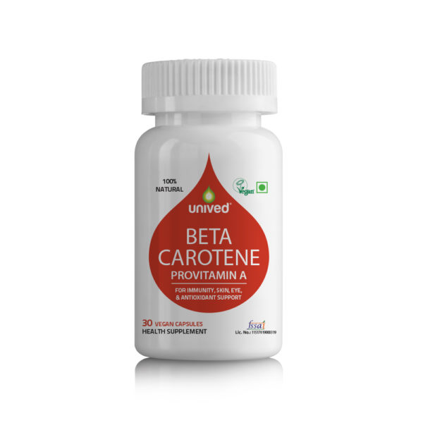 Unived Natural VItamin A Vegan Beta Carotene