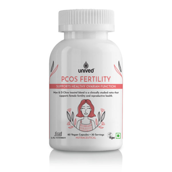 Unived PCOS Fertility Supplement Myoinositol Di-chiro Pregnancy
