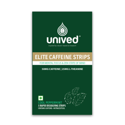 Unived Elite Caffeine Strips Supplement