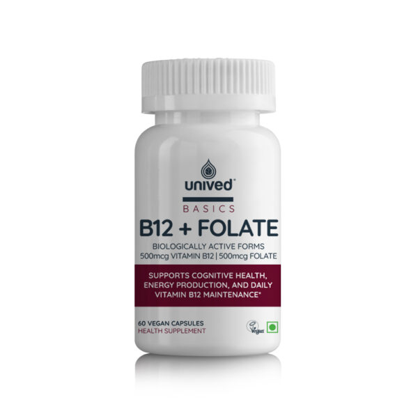 Unived B12+Folate Supplement